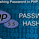 Hashing Password in PHP 5.5 with Password Hashing