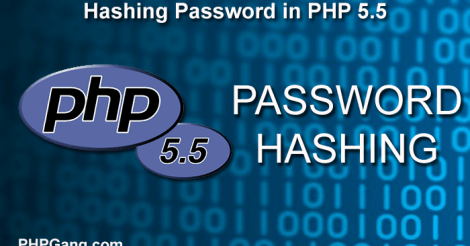 Hashing Password in PHP 5.5 with Password Hashing API